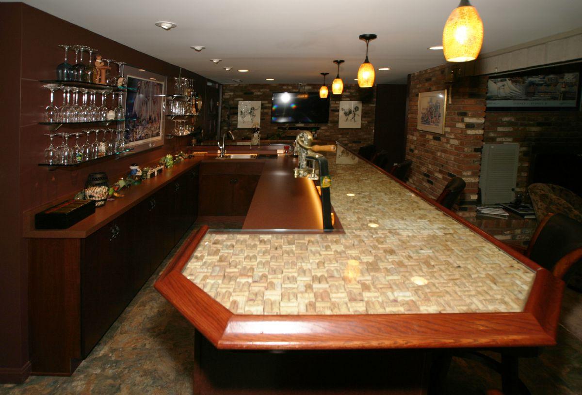 Madeira Residential Bar Remodel