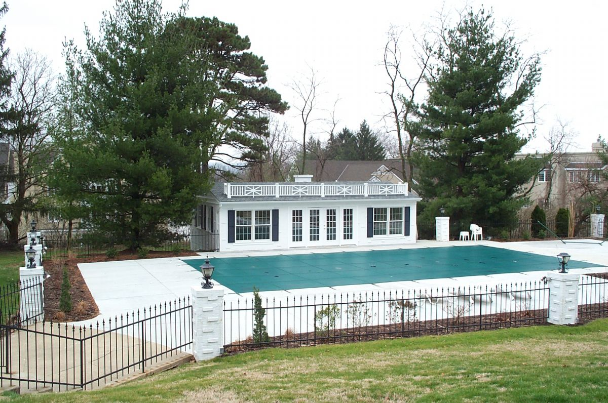 Wyoming Pool and Poolhouse Remodel