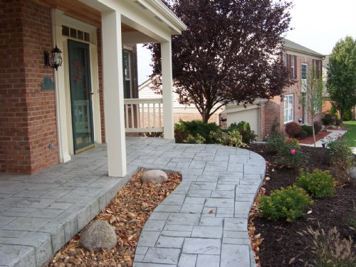 Wilder Front Porch and Driveway Replacement